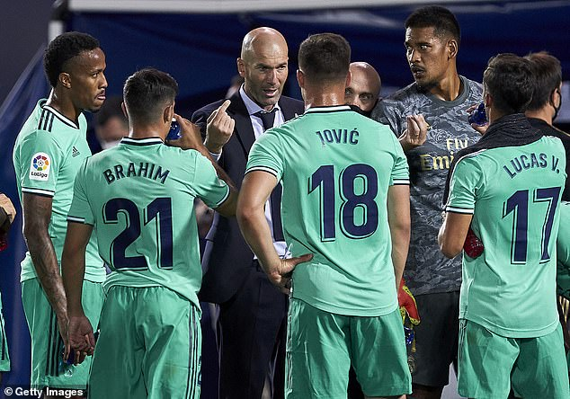 Zinedine Zidane's Madrid side are planning a ruthless spending spree next summer