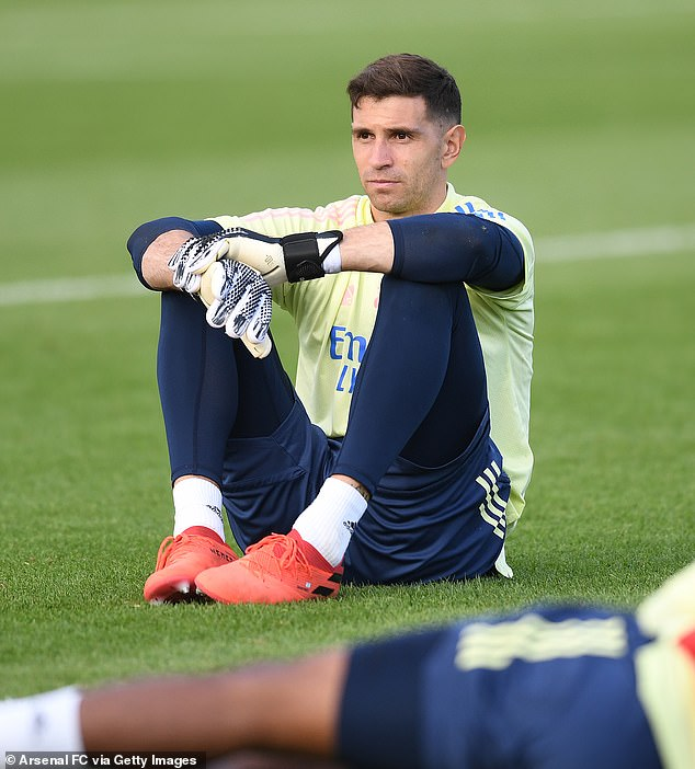 The Gunners are looking for a possible replacement for Aston Villa bound Emiliano Martinez