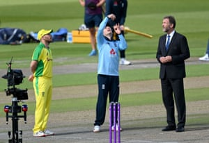 England win the toss and will bat.