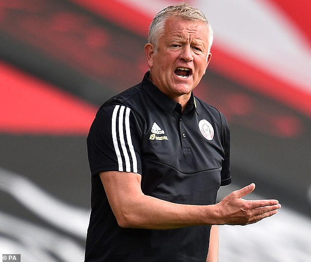 Blades boss Chris Wilder is hoping to develop another England goalkeeper in Ramsdale