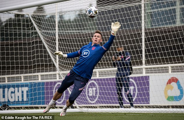 He replaces Dean Henderson, who has gone back to Manchester United after his loan spells