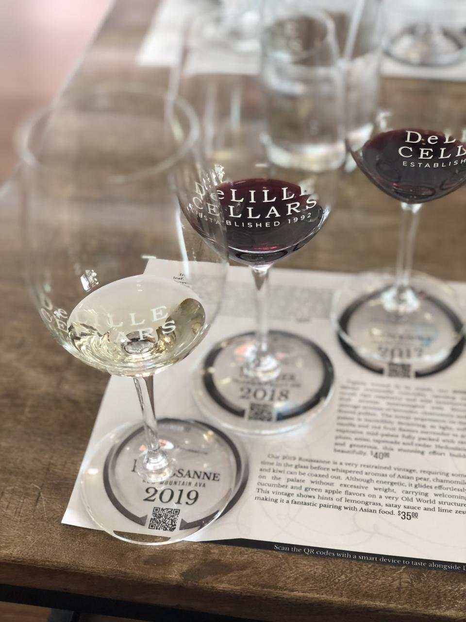 DeLILLE Cellars in Washington state specializes in Bordeaux and Rhone blends.