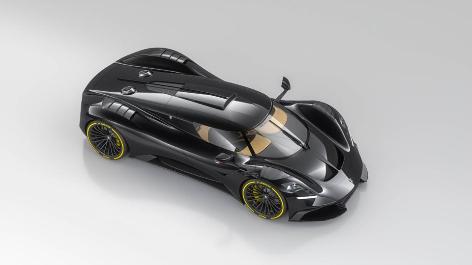 A 700-horsepower V8 engine powers the Ares Design S1 Project