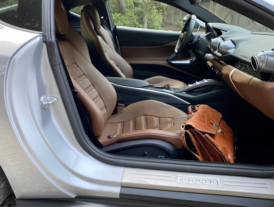 Seats have a thin shell to maximize space, but are comfortable