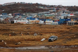 A view of Iqaluit, Nunavut, where the changing climate is making the seasons unpredictable.