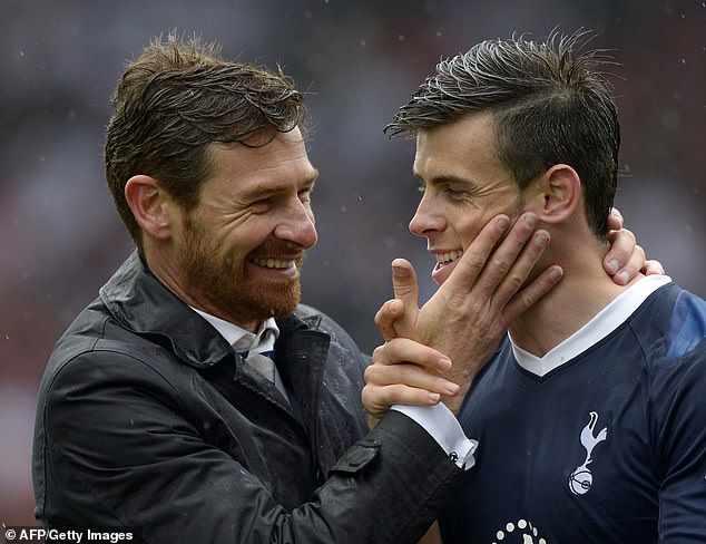 Andre Villas-Boas has revealed how a change of formation got the best out of Gareth Bale during the Welsh winger's final season at Tottenham in 2012-13