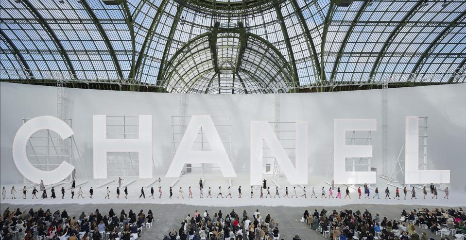 CHANEL SS 2021 RTW Finale at the Grand Palais