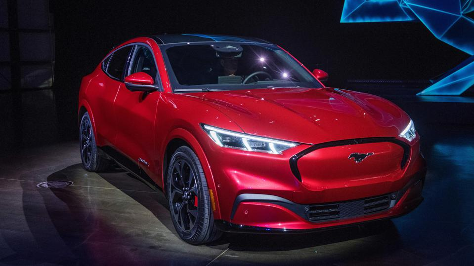 One of the most-awaited new electric vehicles, the Ford Mustang Mach-E SUV promises a range of around 300 miles on a charge.