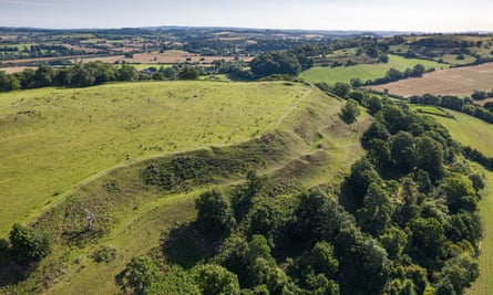 Cadbury Castle, a scheduled monument in Somerset has this year been removed from the at-risk register.