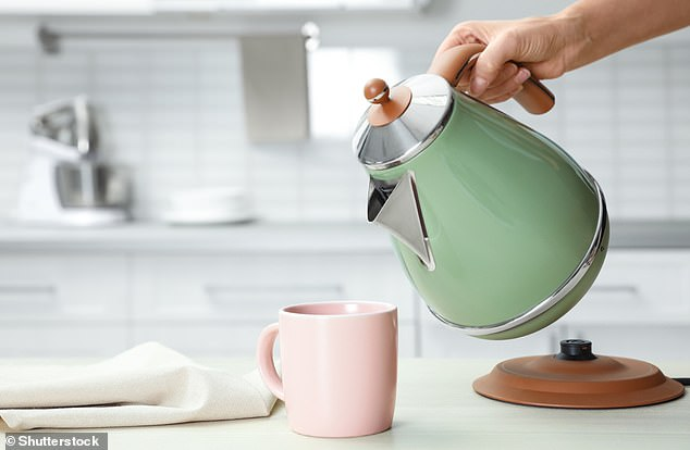 Many kettles have measurements showing how many cups the water inside would fill. Brits could cut their energy bills by taking more notice of them, the research suggests
