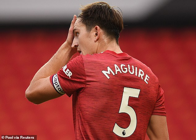 Maguire returns to a Man Utd dressing room low on confidence after their start to the season