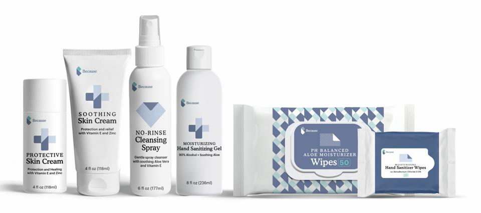 Because Market New Skin Care Line