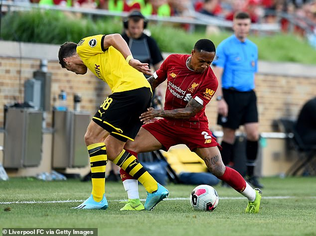 Clyne picked up a season ending knee injury in a friendly with Borussia Dortmund in July 2019
