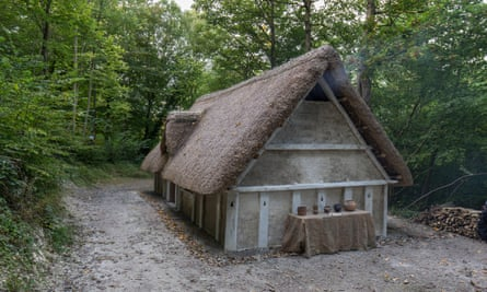 Anglo Saxon house recreated at Weald & Downland Museum