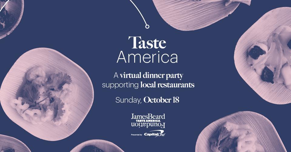 The James Beard Foundation's Taste America virtual dinner party