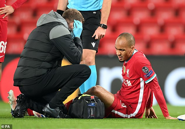 Fabinho has been deputising in van Dijk's absence but sustained a hamstring injury on Tuesday