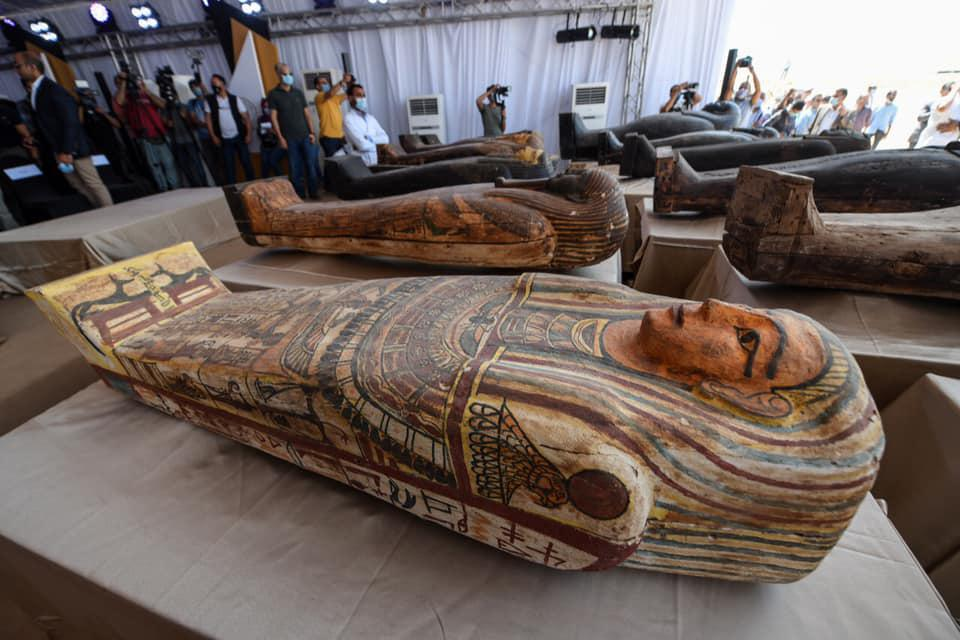 Egypt coffins Saqqara
