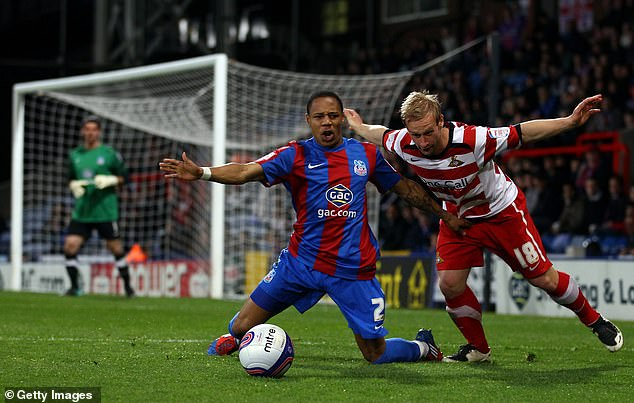 The full-back (left) started his career at Crystal Palace in 2008 before leaving five years later