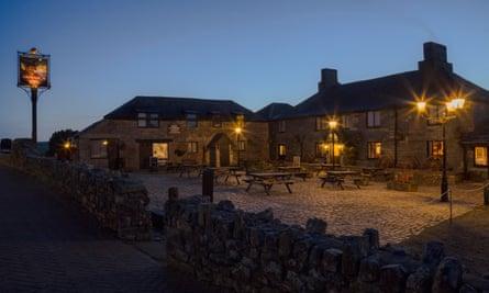 Jamaica Inn at dusk