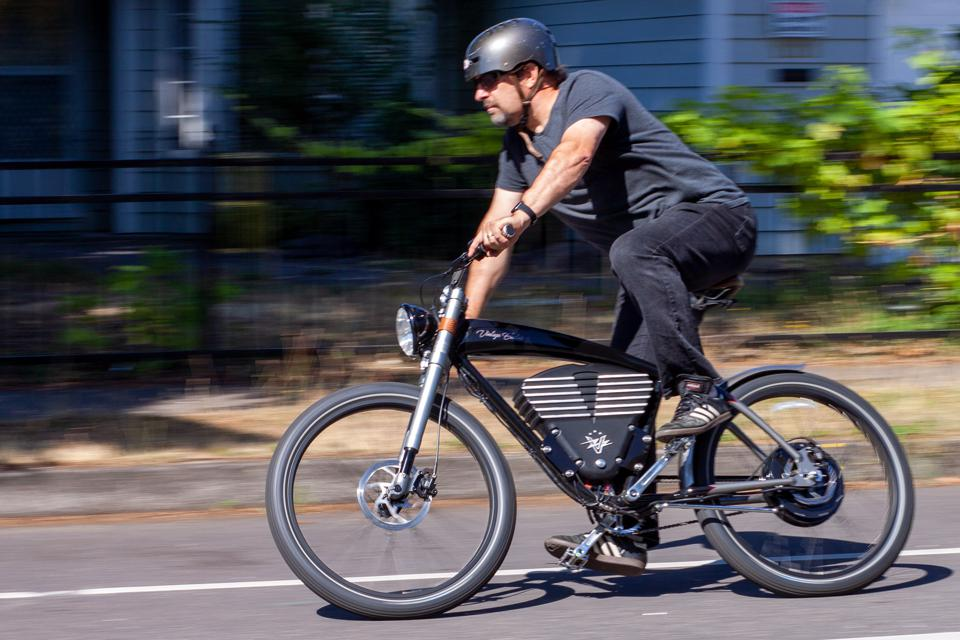 Vintage electric Roadster ebike electric bicycle