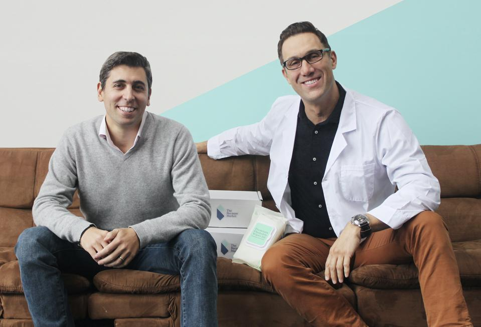 Because Market Founders Alexi Suvacioglu and Luca Gualco.