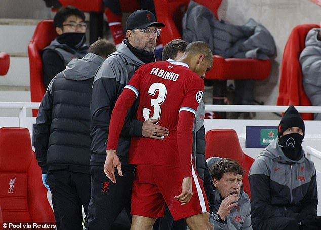 Fabinho will not play against Man City but the injury is reportedly not as bad as first feared