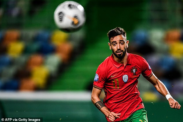 Fernandes played 88 minutes of Portugal's routine 3-0 victory over Sweden on Wednesday
