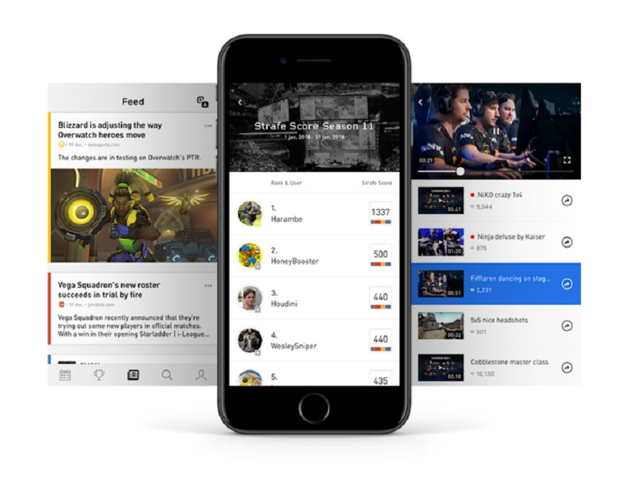 Strafe has raised $3 million for an esports companion app and betting game.