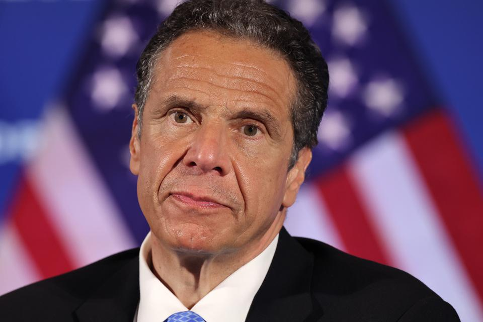 New York Governor Cuomo Holds His Daily Coronavirus Briefing In Washington, D.C.