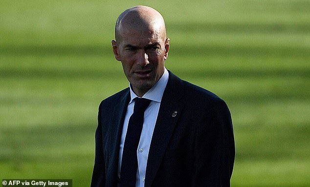 Real Madrid manager Zinedine Zidane needs a win tonight after just one point from two games