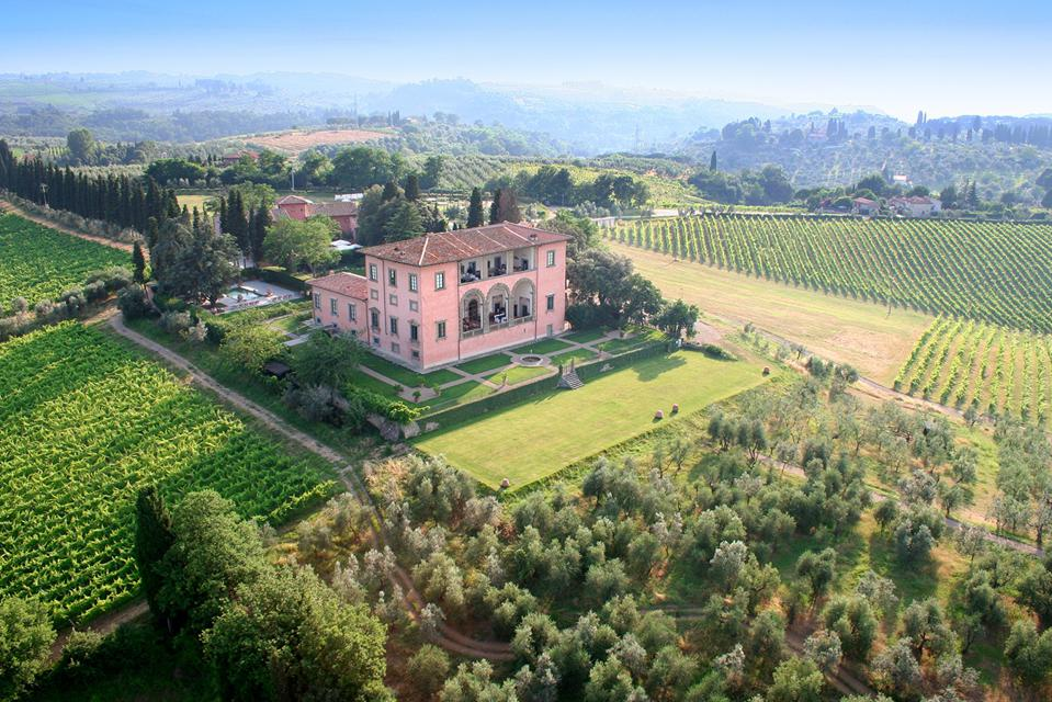 Villa Machiavelli in Tuscany, created at the behest of Cardinal Francesco Maria Machiavelli in the late 15th-century.