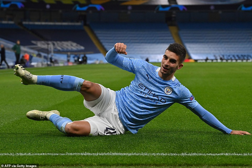 Ferran Torres got Manchester City off to a great start, scoring early after capping off an excellent passing move