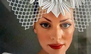 Melbourne milliner Natalie Bikicki getting ready for the Melbourne Cup.