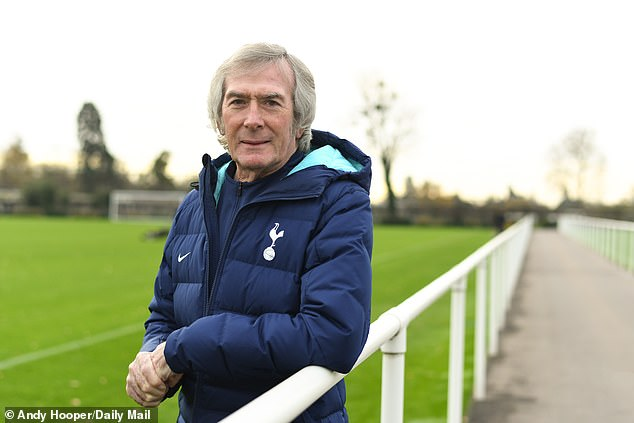 Pat Jennings, 75, is still working and is in his 27th year as a staff member at Tottenham