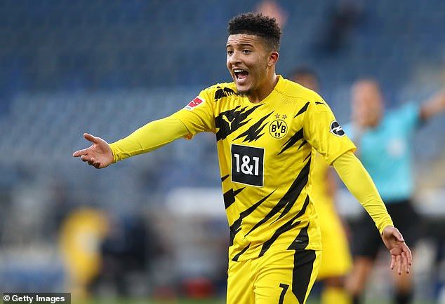 Hans Joachim-Watzke admits there is a limit on how long Borussia Dortmund can resist Manchester United's interest in Jadon Sancho
