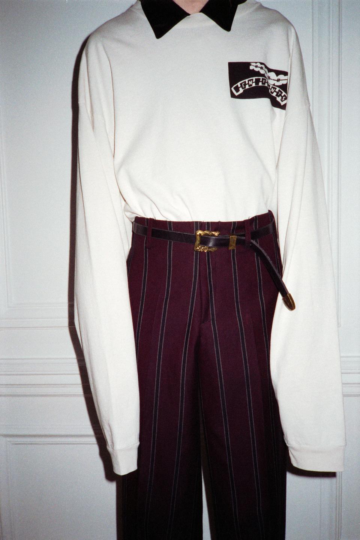 Enfants Riches Déprimés Gabardine Flared Trousers, Automne/Hiver 20