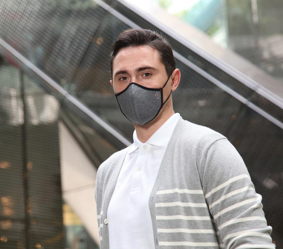 """The SoterTex Copper+ reusable mask provides a protective, comfortable, easy to use, and stylish solution for the """"New Normal"""