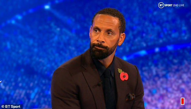 Rio Ferdinand was angry at the award and couldn't see what Dalbert could do in that position