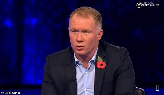 Paul Scholes slammed Manchester United's hapless defending as 'Under 10s football'