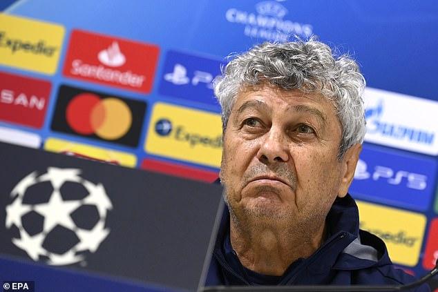 Dynamo Kiev boss Mircea Lucescu has ruled Barca out as Champions League contenders