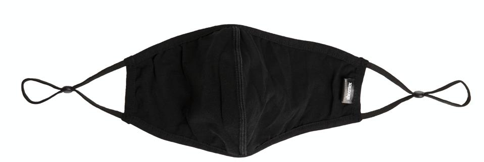 Made in Sheertex's proprietary fiber the reusable Everywear mask is naturally cooling, lightweight, and hydrophobic.
