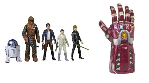Action Figures from Beyblade, Transformers, Star Wars and more