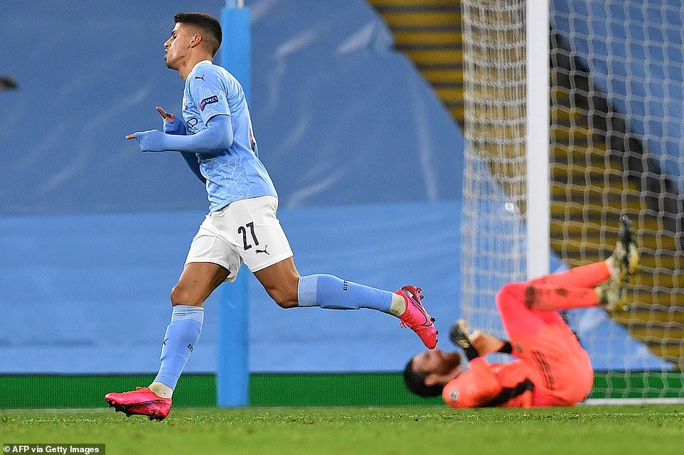 Joao Cancelo then got on the score sheet right at the death, making it 3-0 on what was a fairly simple night for Man City