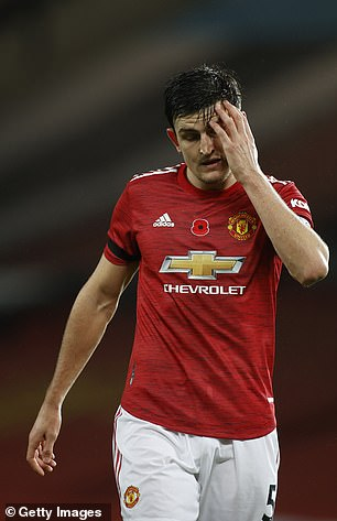 Harry Maguire has been questioned on a number of occasions by Keane
