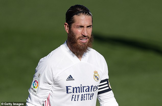 Sergio Ramos is thought to be a key reason as to why Conte did not get the Madrid job in 2018