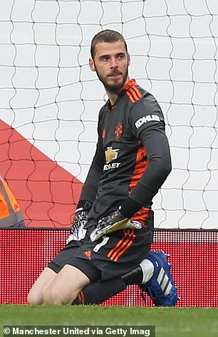 David de Gea has been targeted more than most with Keane of the belief he is no longer good enough