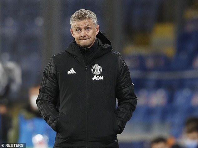 Ole Gunnar Solskjaer was targeted by European press on Thursday for his tactical mistakes