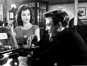 Shirley Anne Field and Albert Finney in Saturday Night and Sunday Morning.
