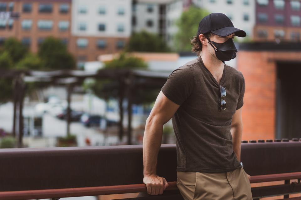 Hide-a-Mask: Always Have Your Face Mask When You Need It. Never Worry About Leaving Home Without it Again!