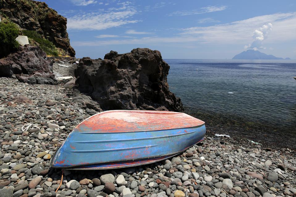 Alicudi, Beach, Eolic Islands, Sicily, Italy